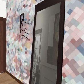 план квартиры № 1 Interior Design Render