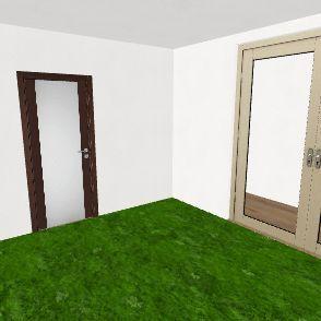 со внутренним домиком Interior Design Render