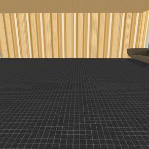 Wide Couch Interior Design Render