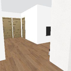 tetőtér finis Interior Design Render
