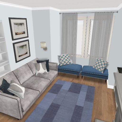Jacobs Residence Interior Design Render