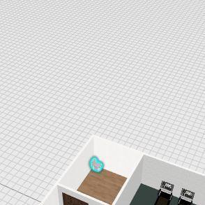 basment Interior Design Render