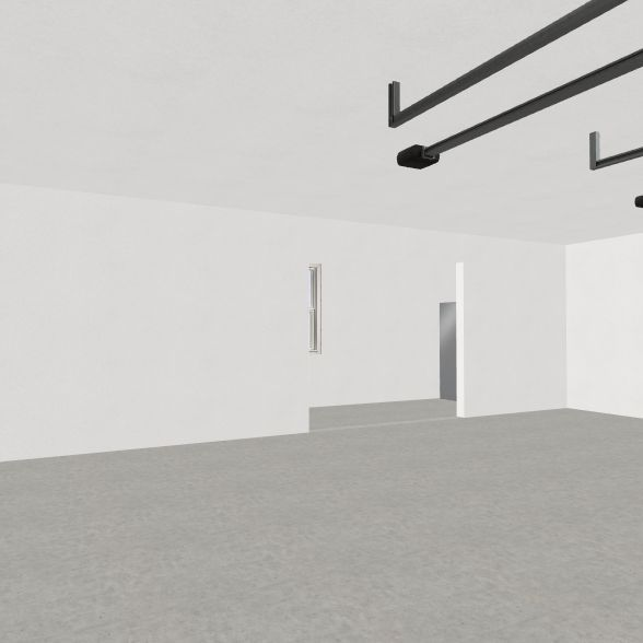 Garage Interior Design Render