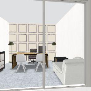 office 4 Interior Design Render