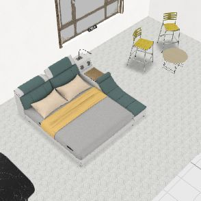 Pediatric Room Interior Design Render