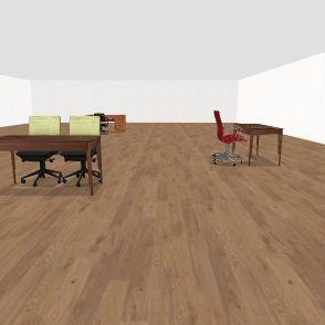 sanai's classroom Interior Design Render
