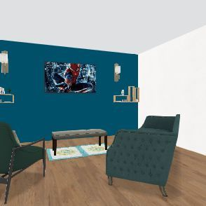Nice house Interior Design Render