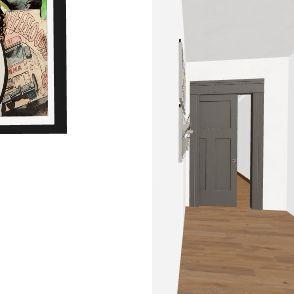 Home Basement Interior Design Render