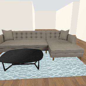 un finshed Interior Design Render