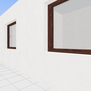 Кабинет2 (вар3) Interior Design Render