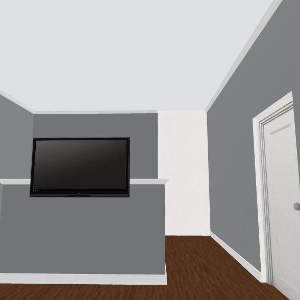 bedroom with baby Interior Design Render