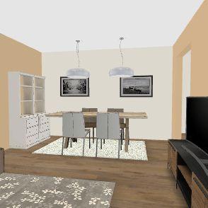 SOGGIORNO 2 Interior Design Render