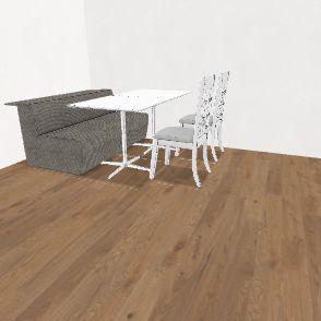 Salão 1 Interior Design Render