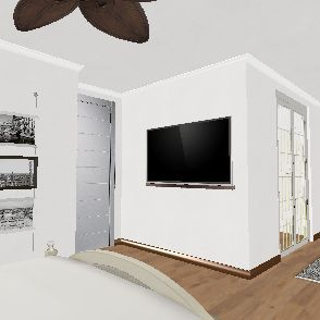 Owen's Master Bedroom Interior Design Render