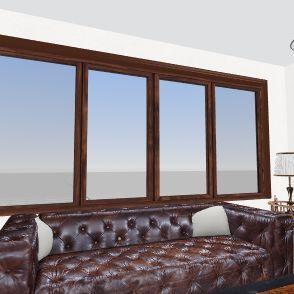 Planta baixa Unidade Habitacional Resort Interior Design Render