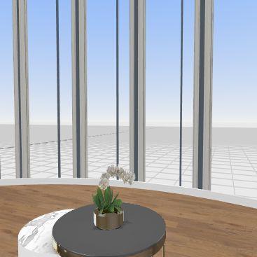ROUND HOUSE  Interior Design Render