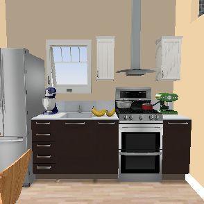 monoambiente 1 Interior Design Render