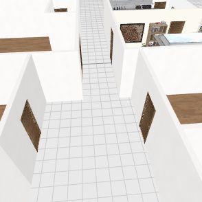 projeto do quarto de casal Interior Design Render