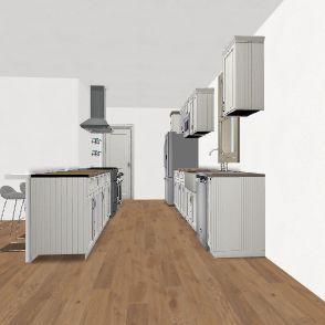 Chrissie & Airin's Kitchen Design - Open 4 Interior Design Render