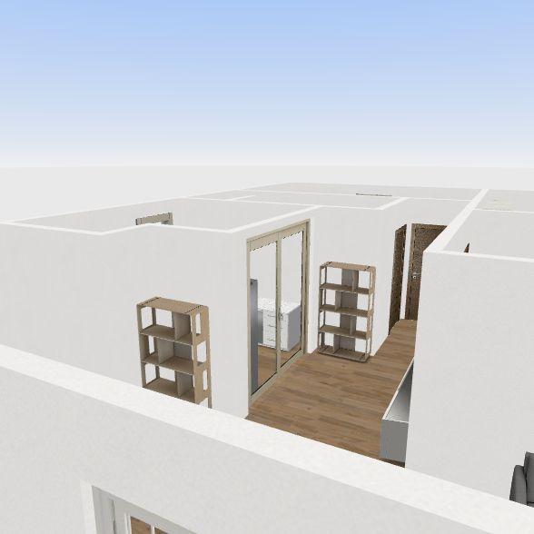 House 3 bedroom Interior Design Render