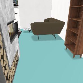 Cyani's traphouse Interior Design Render