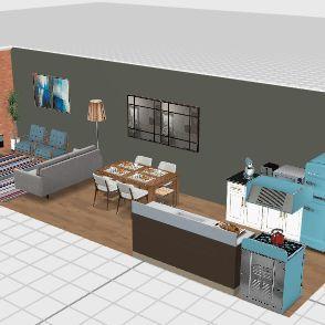 Teste_Rick_2 Interior Design Render