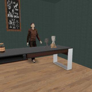 Coffee shop :) Interior Design Render