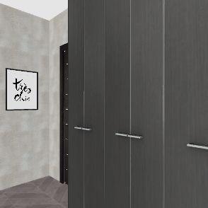 прихожая ерастова Interior Design Render
