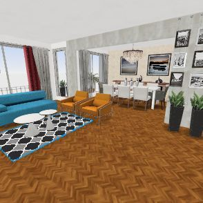 Pueyrredon 2468 Living PRUEBA Interior Design Render