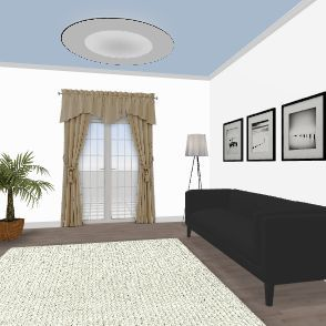 Treatments Interior Design Render