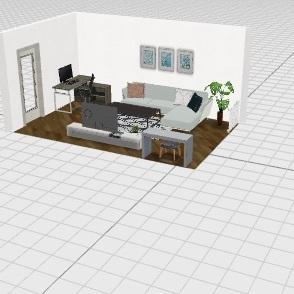 Living_Room Interior Design Render
