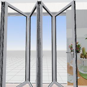 Tropical Room  Interior Design Render