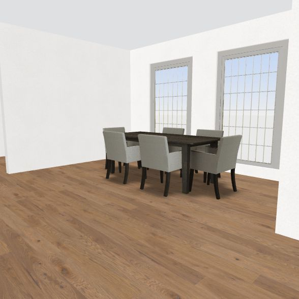 Edina - Zenith Floor Plan Upstairs Interior Design Render