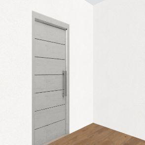 dom_garaz_1_mniejsza kuchnia Interior Design Render