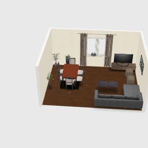 зал 1 этаж 1 Interior Design Render