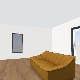 my first house!  Interior Design Render