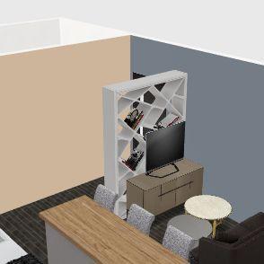 Petit appartement  Interior Design Render