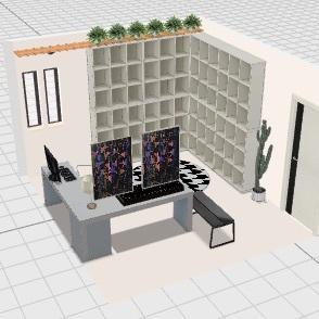 Escritorio SSA V2 Interior Design Render