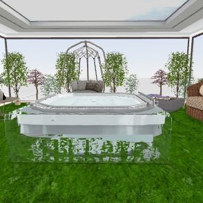 Outside Interior Design Render