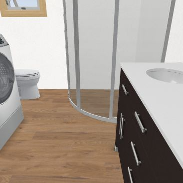 Koupelna Interior Design Render