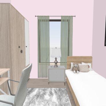 Samantos room Interior Design Render
