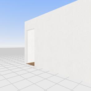 Køkken/stue Interior Design Render