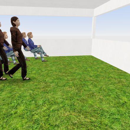 people  Interior Design Render