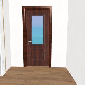 tech house Interior Design Render