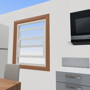 Williams kitche Interior Design Render