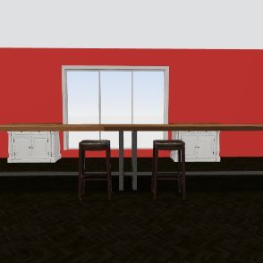 timmys resturaunt Interior Design Render