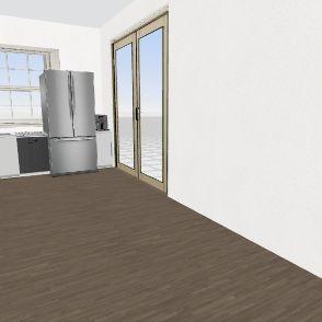 Future House - Kitchen 2.0 Interior Design Render
