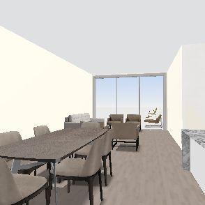 2br Interior Design Render