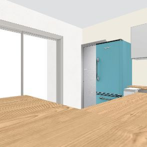 cuisine verrier sur mesure Interior Design Render