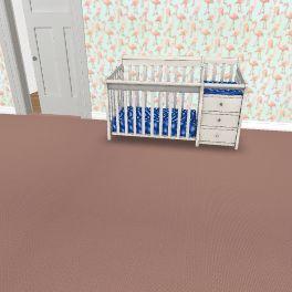 baby Interior Design Render